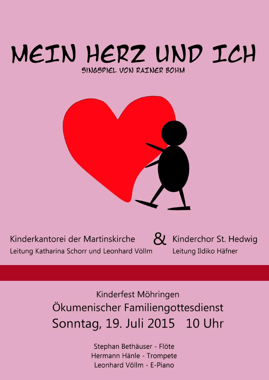 Plakat Mein Herz und Ich