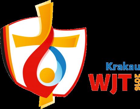 offizielles Logo des Weltjugendtages. s. http://wjt.de/wjt-in-krakau/logo