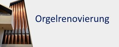 Renovierung der Orgel St. Hedwig